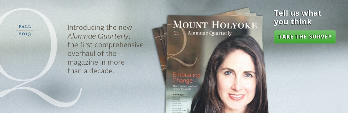 The new Alumnae Quarterly